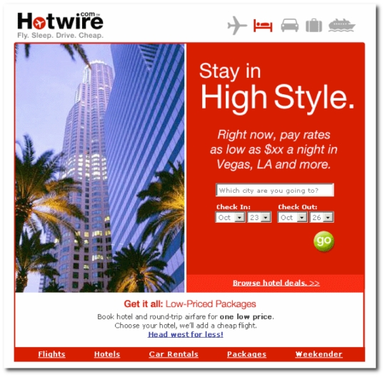 hotwire email